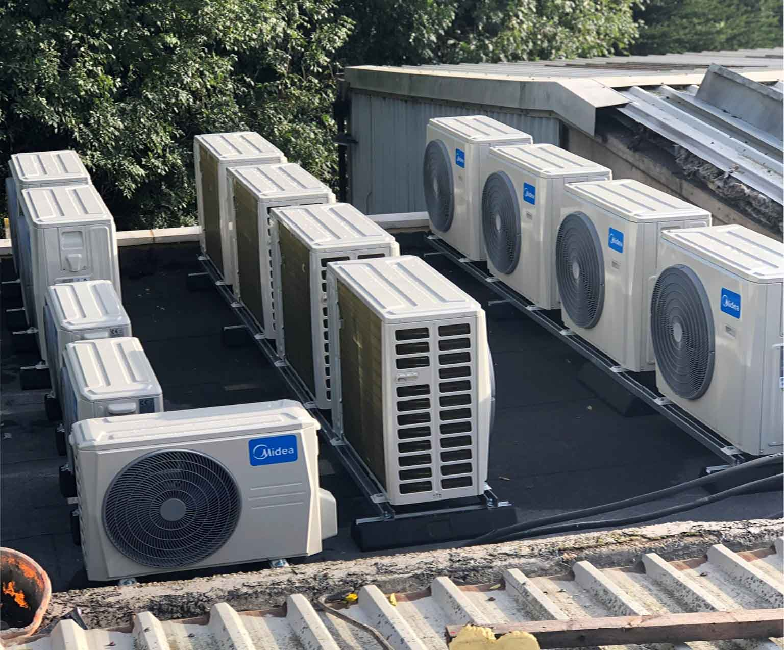 Commercial Roof Condensers
